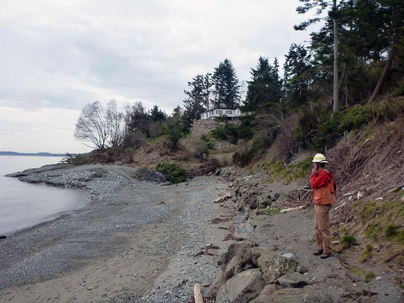 Stephen Slaughter at March 2013 Whidbey Island slide event