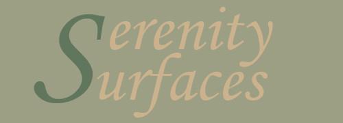 Serenity Surfaces Logo