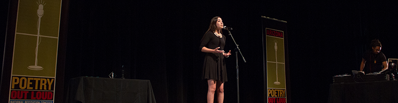 Register your school for Poetry Out Loud