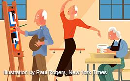 New York Times on Creative Aging
