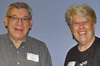 Ira Lebenson and Deb Townsend