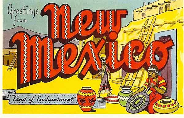 New Mexico Post Card