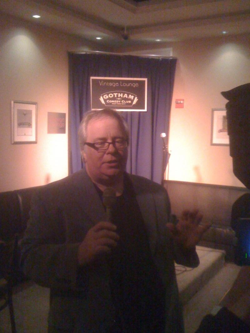 Garrison Leykam at the Gotham Comedy Club