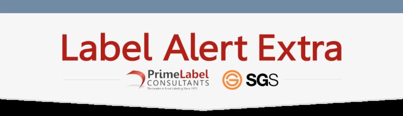 Label Alert EXTRA