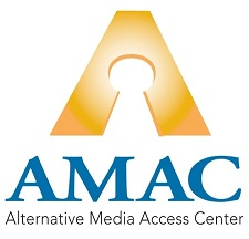 AMAC Logo: Alternative Media Access Center
