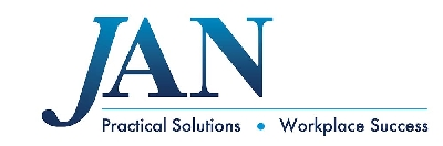 JAN logo, Practical Solutions, Workplace Success.