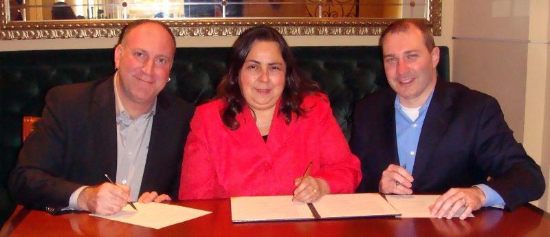 Photo from ATIA/ODEP alliance partnership signing.