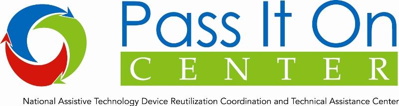 Pass It On Center logo.