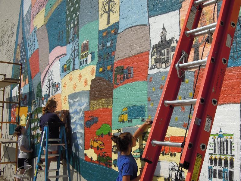 Pulaski Mural