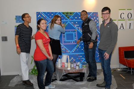collaborative social justice mural