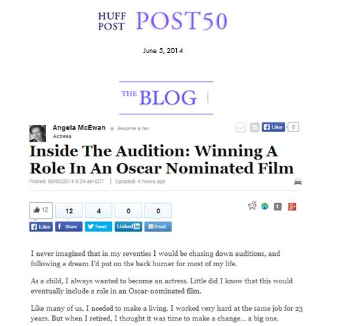 Huffington  Post News Article