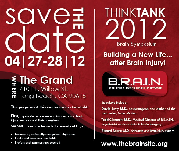 Save the Date Think Tank 2012