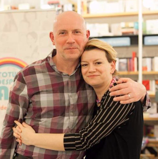 Ian Peatey and Monica Reu