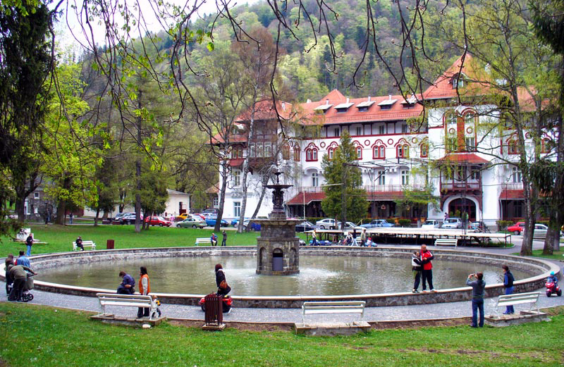 Hotel Caraiman, the venue for this retreat