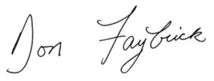 Faybrick Signature
