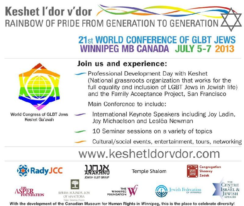 21st world conference glbt