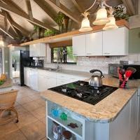 New kitchen at Rockworks, St. Thomas