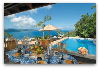 Arundel villa on Tortola