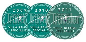 Nancy Anderson is a Top Villa Rental Specialist 2009-2011