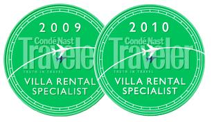 Conde   Nast Traveler Villa Specialist Awards