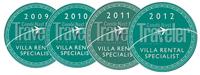 Condé Nast Traveler medallions