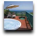 Kyalami hot tub and view