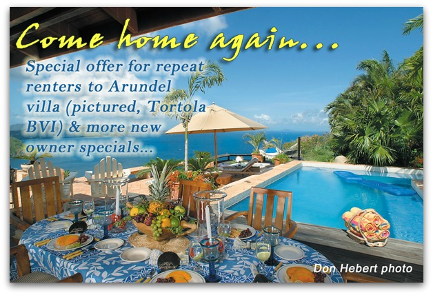 Arundel villa special repeat renter discount!