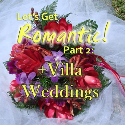 A wedding bouquet at Caribella villa, Grenada, WI