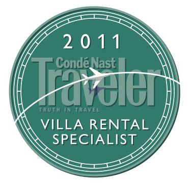 Conde Nast top villa specialist 2011