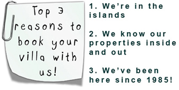 Top 3 reasons to book with us