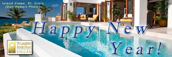 Happy New Year from McLaughlin Anderson Luxury Villas!