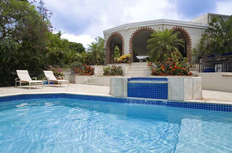 The pool at Villa Gardenia