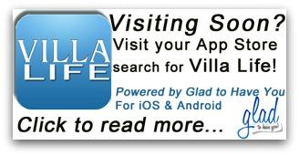 Download our Villa Life app!