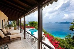 Tortola luxury villa, St. Bernard's Hill House