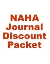 NAHA Journal Discount Packet