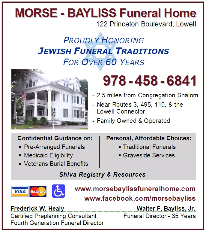 Morse Bayliss Ad April 2012