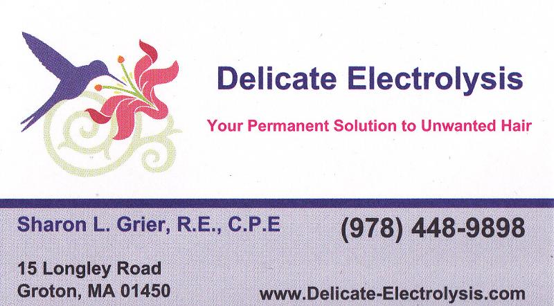 Sharon Grier Business Card 2011