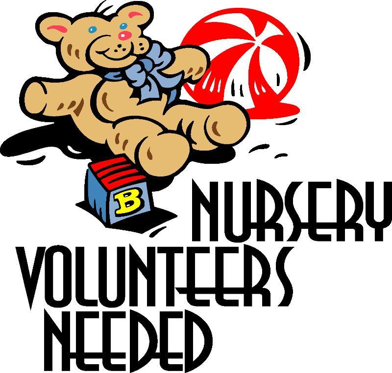 Church Nursery Pictures Google Search: Nursery Volunteers Needed