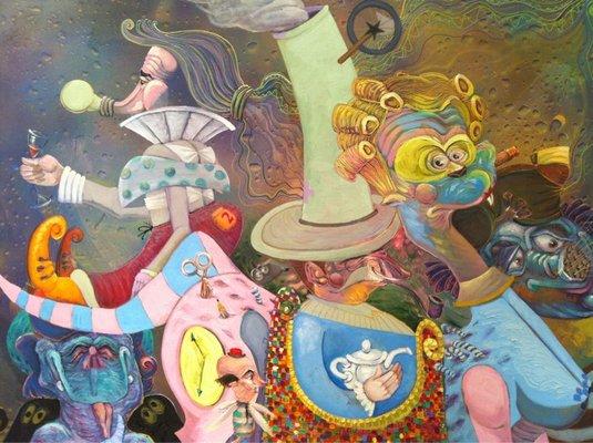 Luis Abreux Painting