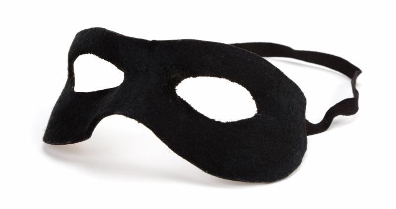 Sue Cameron Original Clayton Moore Lone Ranger Mask For Sale
