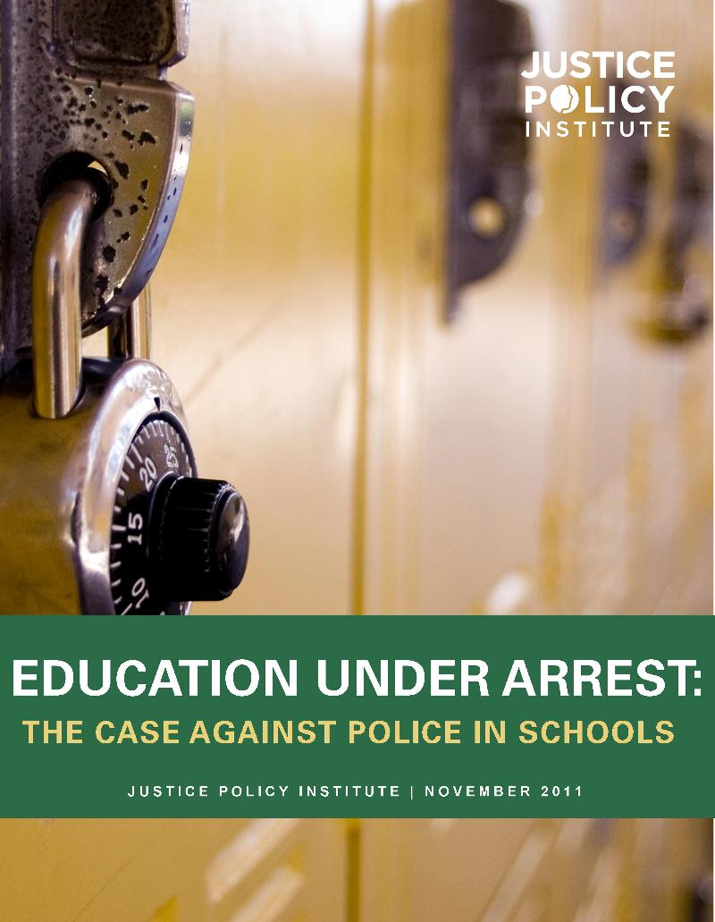 Education Under Arrest Cover