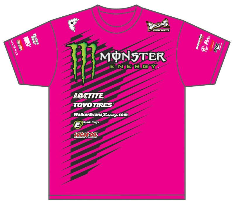 monster pink shirt