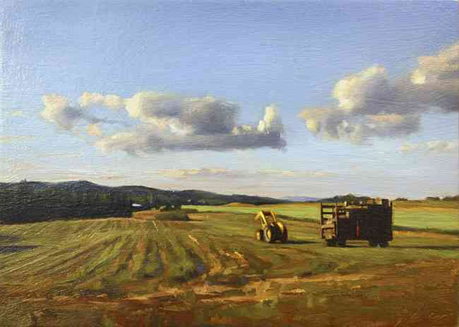 Godbee Field Harvest