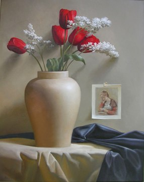 Kurie Red Tulips