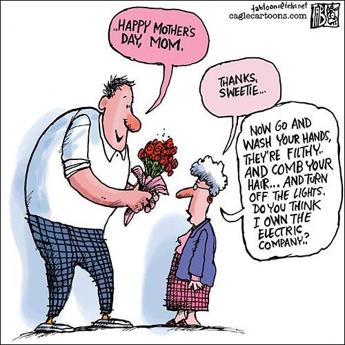 Mother Day Comic, Funny, Comic, Comic Strip, Joke, Jokes
