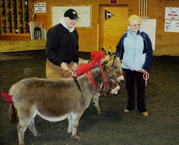 Marge & Rolf & Donkeys