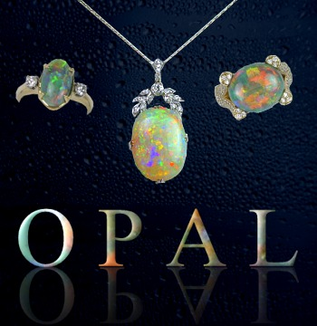 Opal jewelry picture