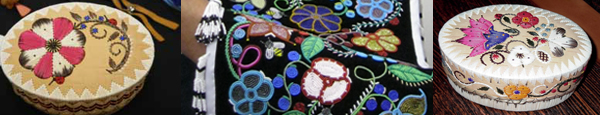 Mel Losh Quill Baskets and Beadwork