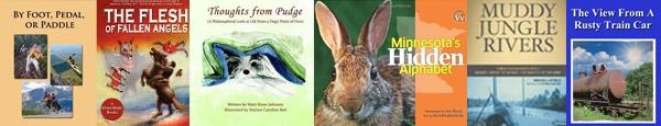 Bemidji Area Authors Book Covers