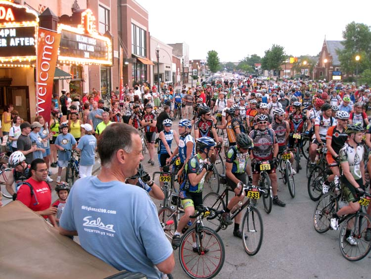 Dirty Kanza Starting Line